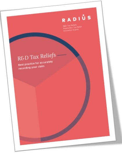 best practices when recording claims for R&D Tax Credits